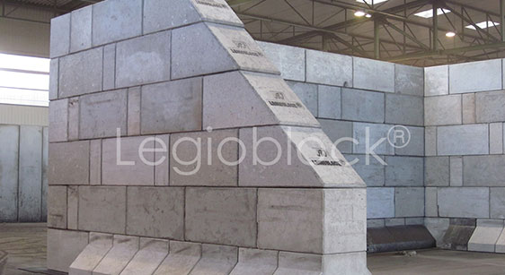Betonové dílce Legioblock